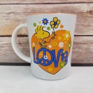 Peanuts Woodstock Love Coffee Mug